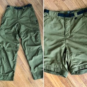 REI Convertible Cargo Hiking Travel Pants